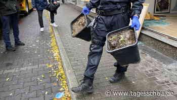 Drogenrazzia: Polizei durchsucht Gebäude in neun NRW-Städten