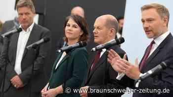 Koalitionsverhandlungen von SPD, Grüne und FDP starten