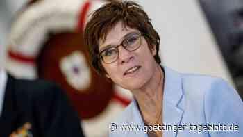 Kramp-Karrenbauer glaubt an Erfolg für Aufbau von EU-Einsatztruppe
