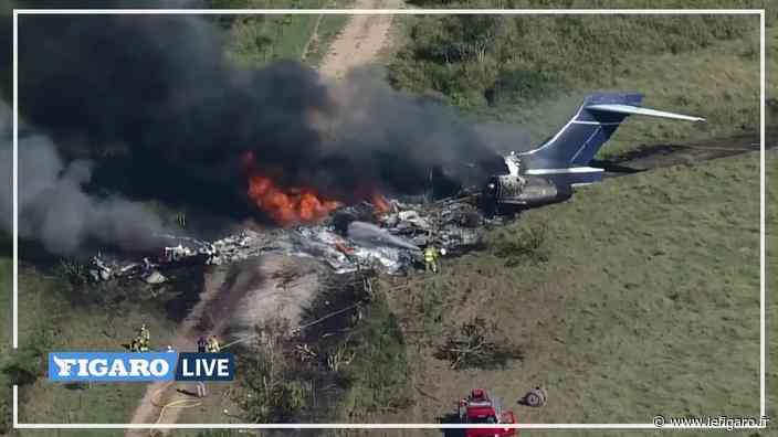 Un avion s'écrase au Texas, les 21 personnes à bord rescapées - Le Figaro