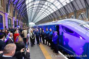 New Lumo train service linking London and Edinburgh launches