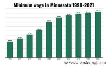 Minimum wage set to increase 2.5% as labor shortages continue - Wadena Pioneer Journal