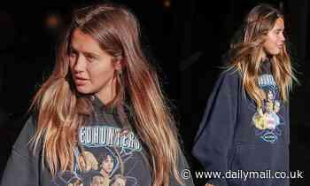 Byron Bay influencer Ruby Tuesday Matthews rocks a $2K Balenciaga Speedhunter sweater - Daily Mail