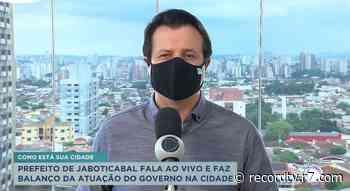 Prefeito de Jaboticabal faz balanço da atuação do governo - Record TV