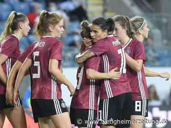 WM-Qualifikation: Knapper Sieg: DFB-Frauen schwächeln in Israel - Bietigheimer Zeitung