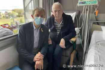 """Frank Deboosere brengt de zon tot bij kankerpatiënten: """"Babbelen doet deugd, over de ziekte en het weer"""""""