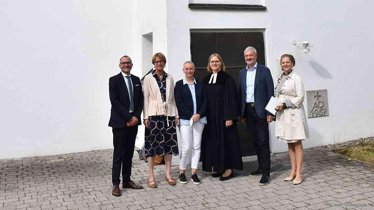 Pfarrerin Kristine Wachter die neue Seele im Dekanat Bamberg - Der Neue Wiesentbote