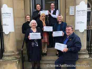 Boxes of goodies start to fill as part of Calderdale Rotary's Shoebox Appeal - Halifax Courier