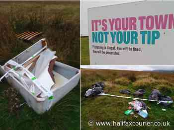 Cameras being used to catch Calderdale fly tippers are being stolen by the culprits dumping the rubbish - Halifax Courier