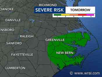 Friday night football games may see some rain
