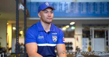 Faitala-Mariner grateful for support network throughout rehab - Bulldogs