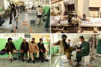 Taliban fighters and Afghan soldiers treated side by side at rehab center - New York Post