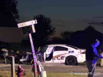 Coats police officer taken to hospital after crash was charged with DWI in 2020