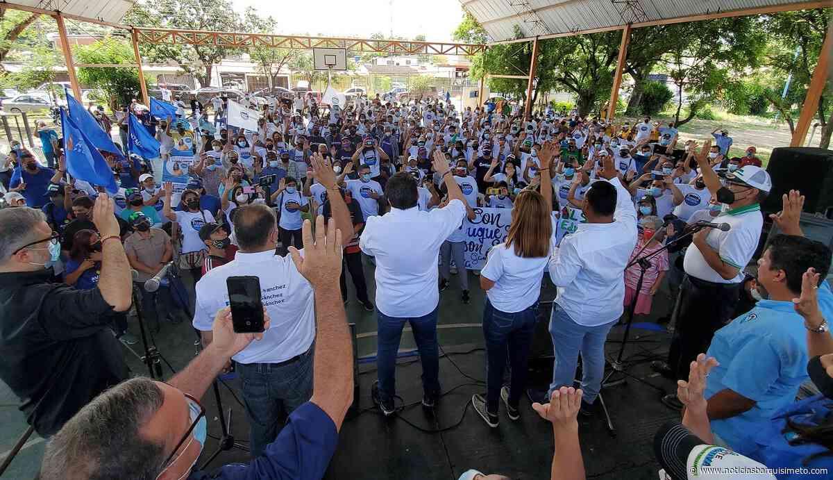 Gustavo Duque en Cabudare: «Llevaremos la experiencia de Chacao a Palavecino» - Noticias Barquisimeto