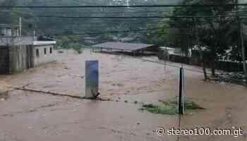 VIDEO   Fuerte lluvia provoca el desbordamiento del río Mazá en Coatepeque - stereo100.com.gt