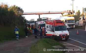 Trabalhador que retirava cones de estrada morre atropelado em Ponta Grossa, diz PRF - Correio dos Campos
