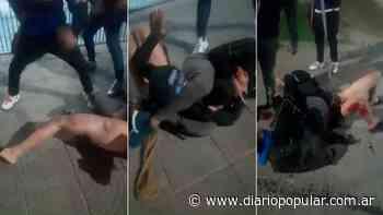 Quilmes: deliverys desnudaron y lincharon a un ladrón - Popular