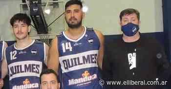 Emiliano Juárez atraviesa un gran momento personal en Quilmes de Rafaela - El Liberal Digital
