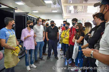 Mayra Mendoza recorrió la Expo Quilmes Educa 2021 - Zona Sur Diario