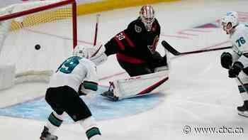 Senators stumble in Tkachuk's season debut as Sharks stay undefeated