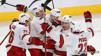 Kotkaniemi scores in return to Montreal as Hurricanes hand woeful Habs 5th-straight loss