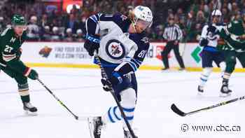 Connor scores twice, powers undermanned Jets to blowout win over Ducks