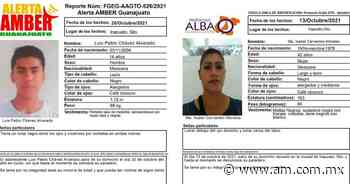 Alerta Amber Irapuato: Desaparece Luis Pablo Chávez Alvarado y Ma. Isabel Cervantes Morales - Periódico AM