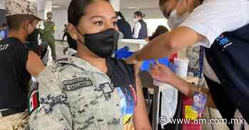 Vacuna COVID en Irapuato: Elemento de la Guardia Nacional va por primera dosis - Periódico AM