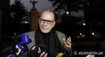 """Ricardo Belmont tras reunión con el presidente Pedro Castillo: """"No se me va a oficializar como asesor"""" - El Comercio Perú"""