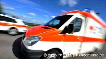 Radfahrer bei Unfall in Kleinsaara verletzt - Thüringer Allgemeine