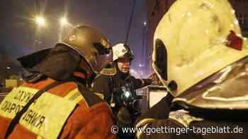 Tote und Verletzte bei Explosion in Schießpulver-Fabrik inRussland