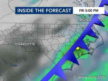 Rain possible during Friday morning commute as cold front arrives