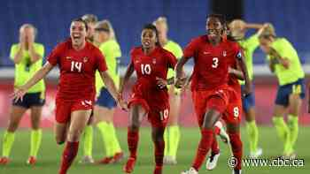 Canadian women's soccer reunites for Celebration Tour as squad begins looking ahead