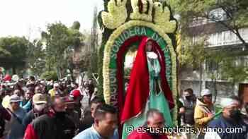 DJs mexicanos peregrinan a la Basílica de Guadalupe y llenan las calles de música a su paso - Yahoo Noticias
