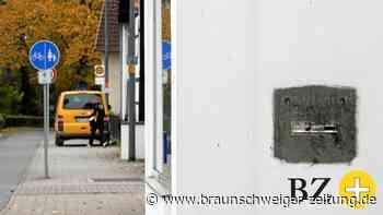 Neuer Standort für Postkasten in Braunschweig-Riddagshausen