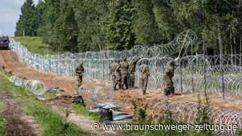 Migration über Belarus: Polens Grenzer nehmen Kuriere fest