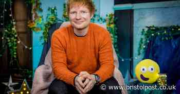 When will Ed Sheeran be on CBeebies Bedtime Stories and what will he read?