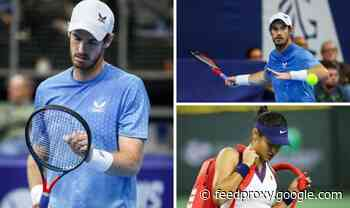 Andy Murray gives one-word response when asked about Emma Raducanu coaching situation