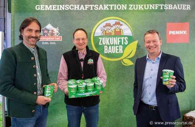 Zukunftsbauer fördert energieeffiziente Landwirtschaft / Berchtesgadener Land und PENNY binden bei Förderprogramm Konsument:innen bewusst ein - Klimaschutz als Gemeinschaftsprojekt
