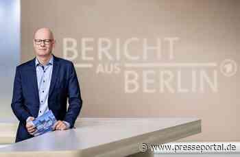 """""""Bericht aus Berlin"""" am Sonntag, 24. Oktober 2021, um 18:05 Uhr im Ersten"""