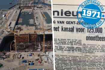 50 jaar geleden al gevraagd, nu pas gebouwd: hoe Gent al in 1971 een grotere havensluis nodig had
