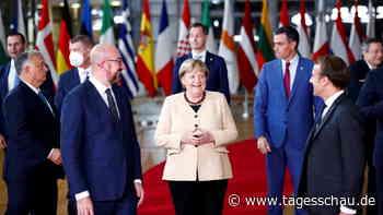 Merkel mit stehendem Applaus auf EU-Gipfel verabschiedet