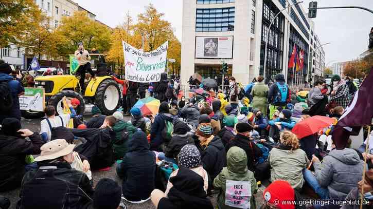 Demo in Berlin: Tausende fordern besseren Klimaschutz