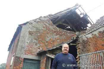 """Aurore blaast in Niel gevel oude boerderij weg: """"Niet eerste keer getroffen door noodweer"""""""