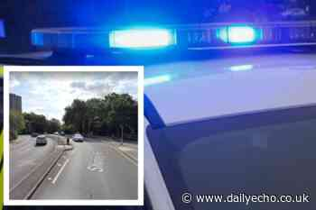 Emergency services attend crash on Shirley Road, Southampton
