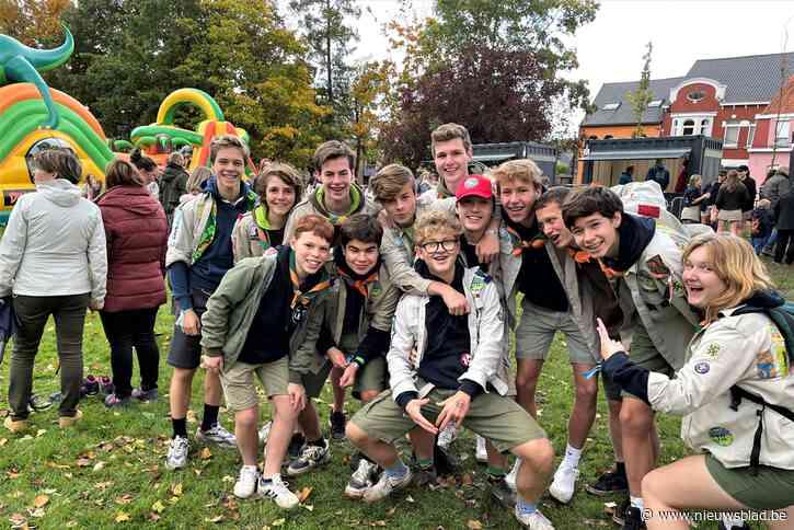 Springkastelen en muziek in het park voor Leedse jeugdbewegingen