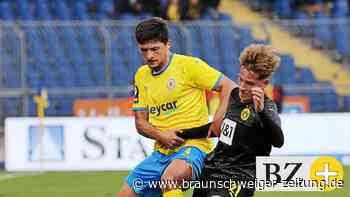 Jannis Nikolaou fehlt Eintracht Braunschweig beim TSV Havelse