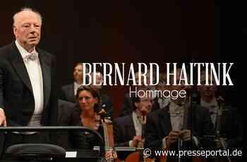 ARTE nimmt Abschied von Bernard Haitink und Udo Zimmermann