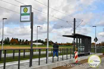 Endspurt für den Ausbau der Straßenbahn Linie 3 von Augsburg nach Königsbrunn | Presse Augsburg - Presse Augsburg