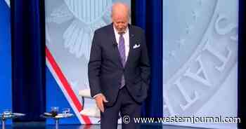 Biden Struggles to Speak, Gives Up and Says, 'Uh, Um, What Am I Doing Here?'